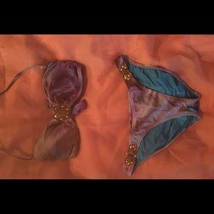 VIX peacock bikini set